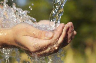 Каков состав природной пресной воды
