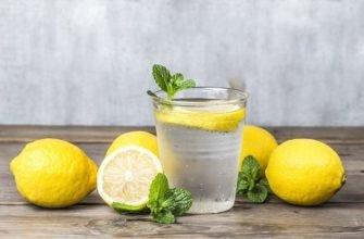 Для чего пьют воду с лимоном