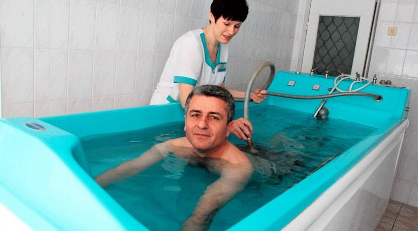 ванны с термальной водой